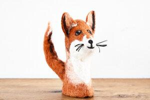 Eierwärmer Fuchs, Tierfigur aus Filz - feelz