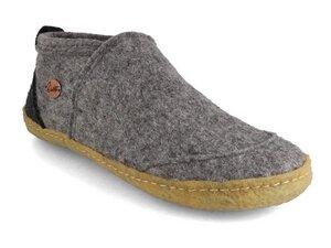 Büro Hausschuhe 'Taiga' mit Naturgummisohle  - WoolFit