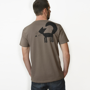 Franzi Fuchs T-Shirt für Herren walnut brown - Cmig