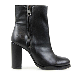 Luxe High Heeled Boots Black - WILLS LONDON