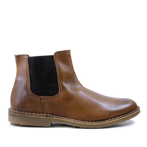 Dealer Boots Chestnut - WILLS LONDON
