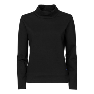 ThokkThokk TT1014 Turtle Neck Sweater Women Black  - THOKKTHOKK