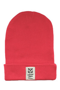 Strick Beanie #Anker rot  - recolution
