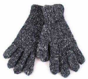 Herren-Fingerhandschuhe,aus 70% Wolle und 30% Viskose, Einheitsgröße - El Puente