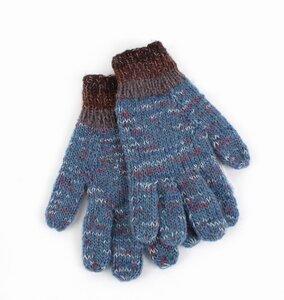 Herren-Fingerhandschuhe aus 75% Wolle und 25% Baumwolle, Einheitsgröße - El Puente