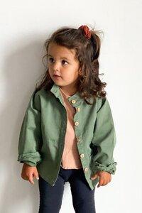 Twill Jacke mit aufgesetzten Taschen - frankie & lou organic wear