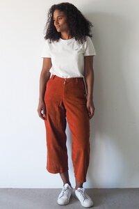 Cord Culotte für Frauen - frankie & lou organic wear