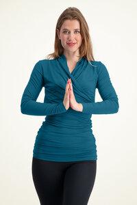 Langarm Yoga Shirt Good Karma - Urban Goddess