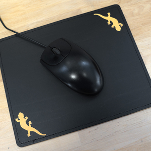 'Salamandra grandis' Mousepad - shop handgedruckt