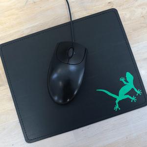 'Gecko' Mousepad - shop handgedruckt