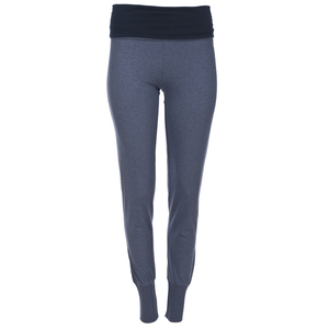 Yoga Hose blaumeliert - People Wear Organic