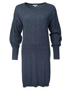 Strickkleid aus Bio-Baumwolle (kbA) & recyceld Cashmere (GOTS) 'Cotcash Kleid' - Alma & Lovis