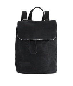 Mini Backpack - Black aus Kork  - Jentil Bags