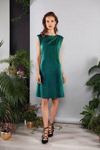 Damen Kleid kurz ausgestellt mit Details - SinWeaver alternative fashion