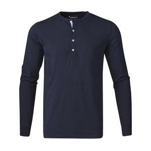Henley - Total Eclipse - KnowledgeCotton Apparel