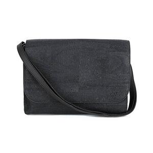 Umhängetasche - Black aus Kork - Jentil Bags