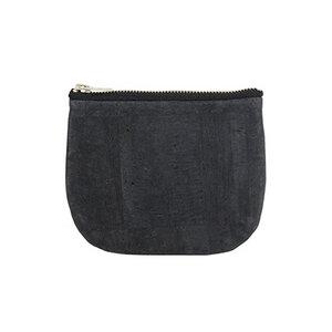 Purse - Black aus Kork - Jentil Bags