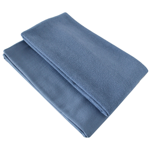 Pestemal/Saunatuch Set in denimblau 70x170 + 40x80 - cotonsano