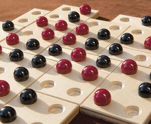 """"""" Kulami"""" - Strategiespiel aus Holz und Glas - Steffen-Spiele"""