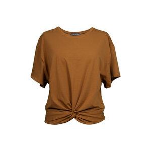 """Damen T-Shirt aus Bio-Baumwolle und Elasthan """"Twisted Shirt """" - Flying Love Birds"""