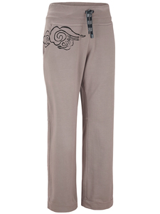 Supima Cotton French Terry Sweat Pants with Cloud, Unisex - Chakura by Ku Ambiance