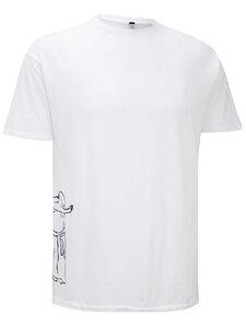 Supima Baumwolle Herren T-Shirt mit Mönch - Chakura by Ku Ambiance