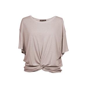 "Damen T-Shirt aus Lyocell und Elasthan ""Twisted Shirt"" - Flying Love Birds"