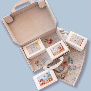 Feen Puzzle Set mit 4x 100 Teilen - Fines Papeterie