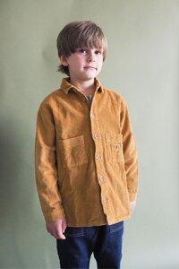 Cord Hemd für Kinder - frankie & lou organic wear