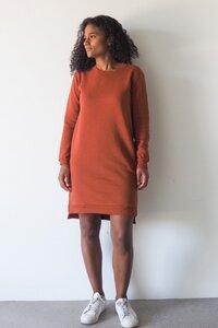 Kleid aus Bio-Sweatstoff - frankie & lou organic wear