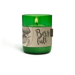 Duftkerze Bergluft - rein natürlich - mit dem Duft der Zirbe - Looops Kerzen
