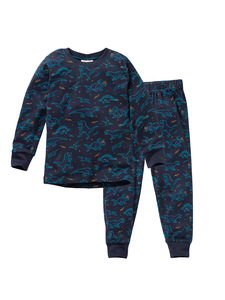 Kinder Pyjama Dinos reine Bio-Baumwolle - People Wear Organic
