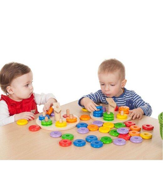 sina spielzeug zeiger steckspiel set f r kindergarten und krippe ab 18 monate geeignet. Black Bedroom Furniture Sets. Home Design Ideas