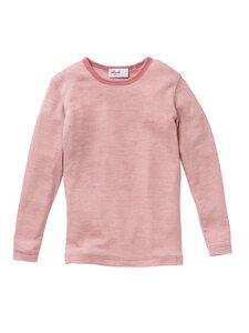 Baby und Kinder Langarm-Unterhemd Bio-Wolle/Seide - People Wear Organic