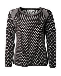Pullover aus Bio-Baumwolle (kbA, GOTS zertifiziert) 'Raute Pullover' - Alma & Lovis