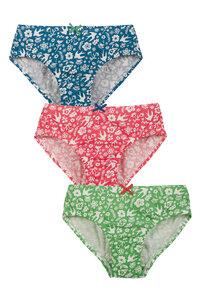 Slips für Mädchen in Dreierpack - Frugi
