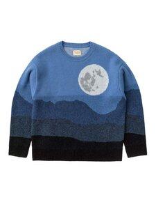 Lena Moon Sweater Blue - Nudie Jeans