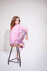 Studio Sweater - Pink - Mandala