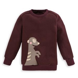Kinder Sweatshirt Erdmännchen - internaht