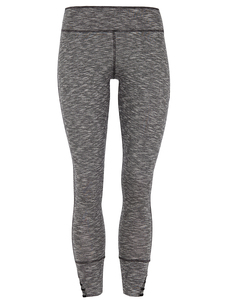 Tight Yoga Leggings - Grey - Mandala