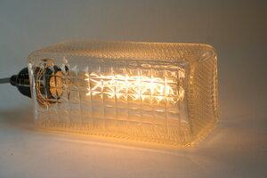 Glasbausteinlampe - Wandelwerk