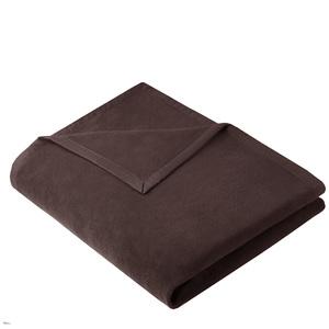 Wohndecke Kuscheldecke OLE 150x200cm aus 100% Baumwolle (kbA) Braun - NATUREHOME
