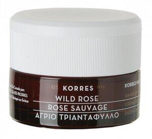 Wild Rose 24 Stunden Feuchtigkeitscreme normale Haut - Korres