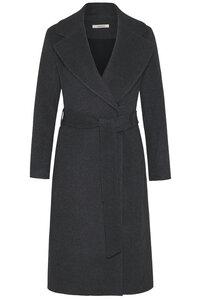 """Damen Mantel aus Schurwolle """"Belted coat merino flannel"""" - Wunderwerk"""