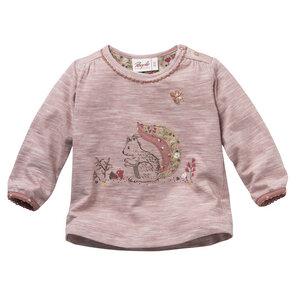 Baby Langarmshirt rose meliert Bio People Wear Organic - People Wear Organic
