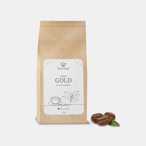 Ecoroyal Premium Kaffeebohnen Espressobohnen (Gold) - Ecoroyal