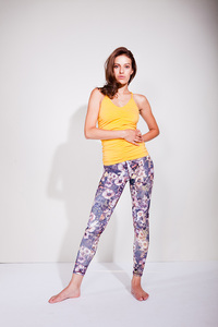 Fancy Leggings - Butterfly Print - Mandala