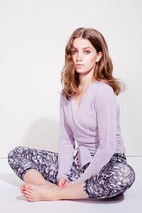 Sweet Wrap Wickeljacke - lavender - Mandala