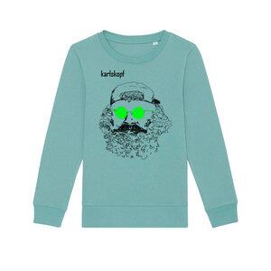 Kinder Sweatshirt Print | SKATER | karlskopf | 85% Bio-Baumwolle - karlskopf