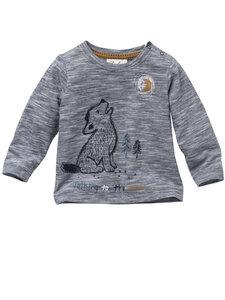 Baby und Kinder Langarm-Shirt Wolf reine Bio-Baumwolle - People Wear Organic